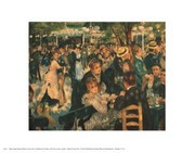 Dance At The Moulin De La Galette Poster Print by Pierre-Auguste Renoir (14 x 11)