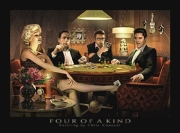 Four of a Kind Poster Print by Chris Consani (14 x 11)