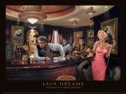 Java Dreams Poster Print by Chris Consani (14 x 11)