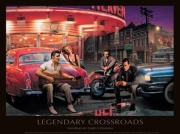 Legendary Crossroads Poster Print by Chris Consani (14 x 11)