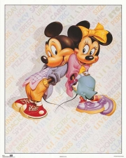 Mickey & Minnie Cool Poster Print by Walt Disney (16 x 20)
